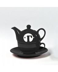 Kameninová čajová súprava T BLACK