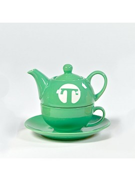 Tea set for one GREEN
