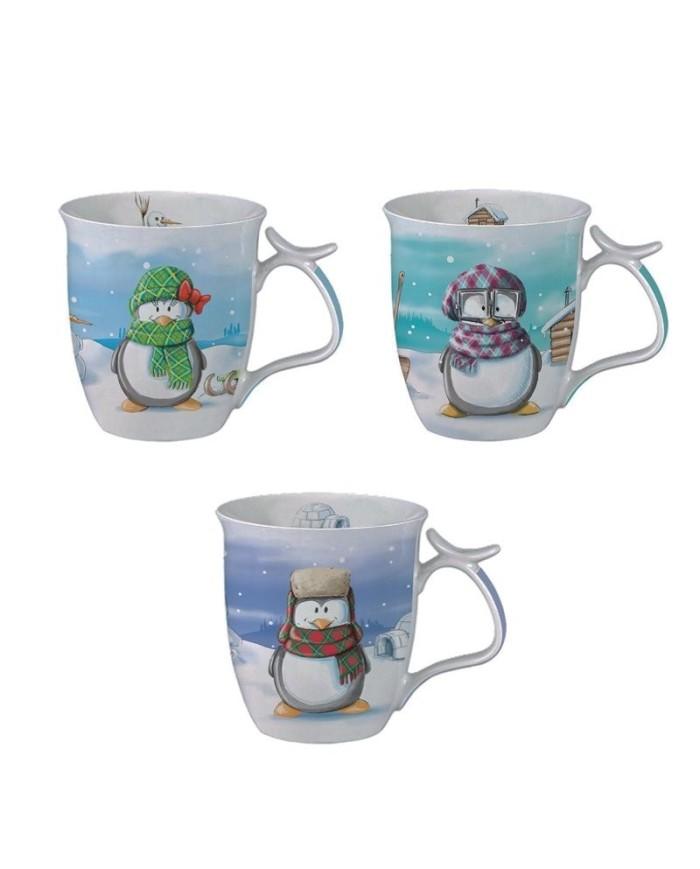 Porcelánový pohár Pinguin
