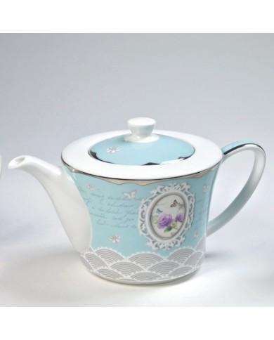 Porcelánový čajník Recollect