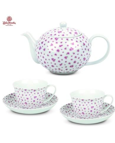 Exkluzívna čajová súprava Tealicious English Rose