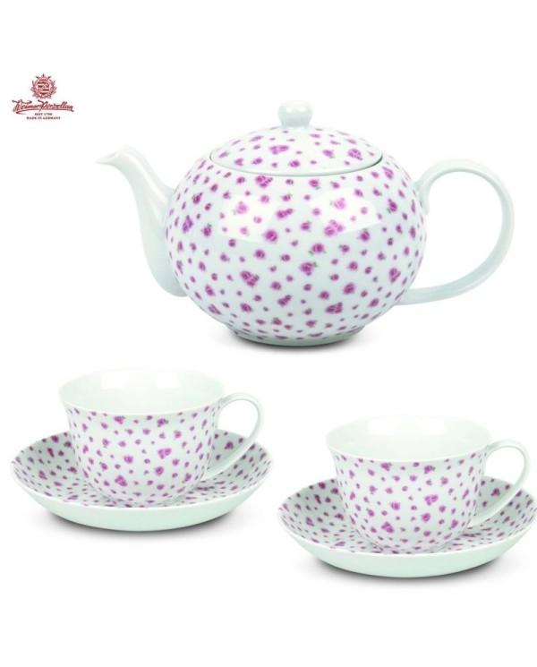 Exkluzívna čajová súprava Tealicious Anglická ruža
