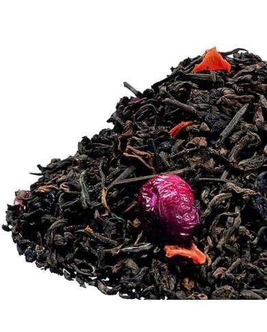 China Puerh Tea s brusnicami