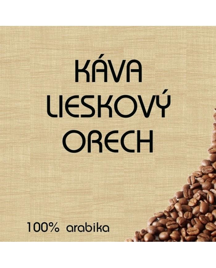 Aromatizovaná káva Lieskový orech