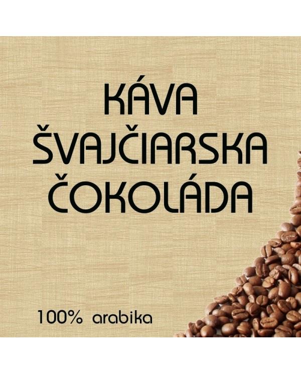 Flavored coffee Swiss chocolate