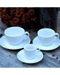 Sada porcelánových šálok na kávu