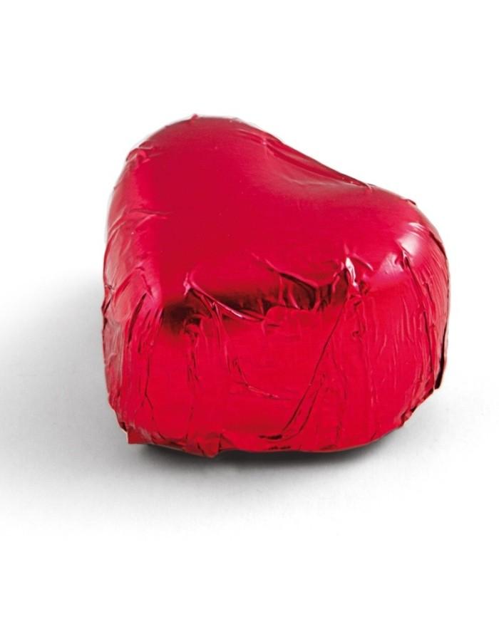 Pralinkové čokoládové srdce