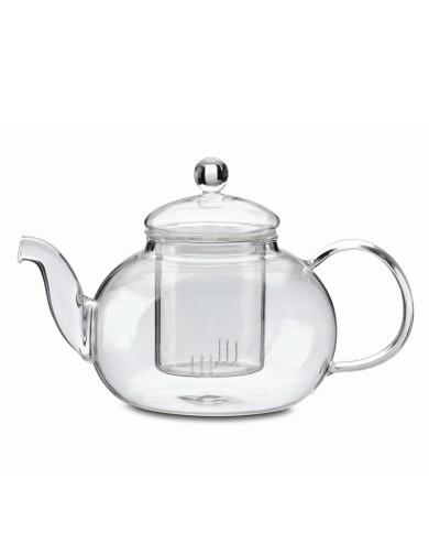 Glass teapot Rondo