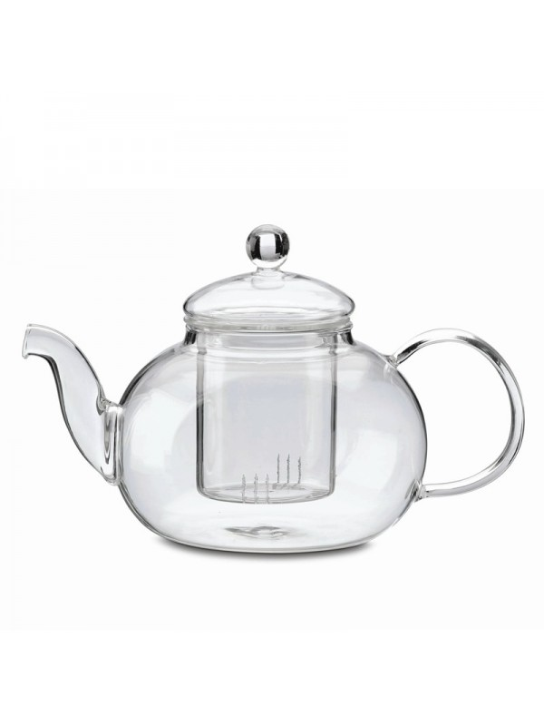 Glass teapot Rondo