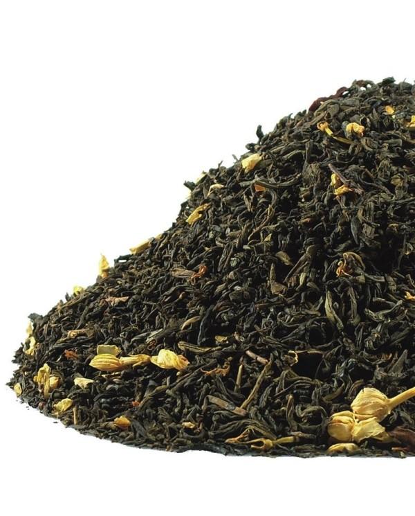 Jazmínový čaj s kvetmi