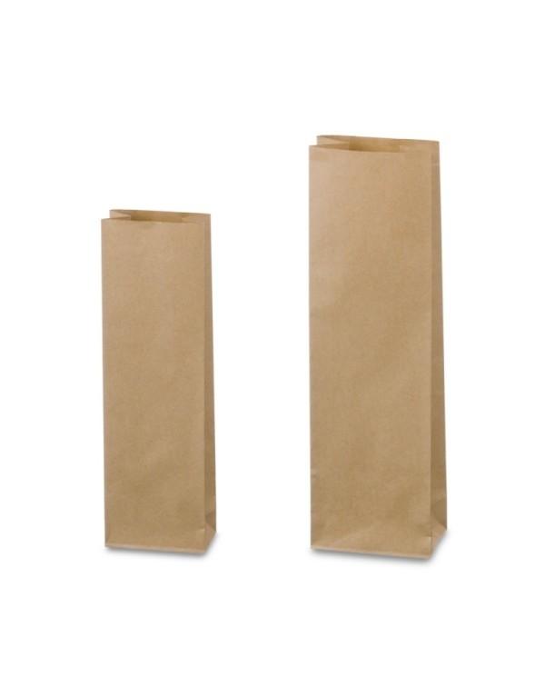 Zataviteľné vrecká Natron hnedé