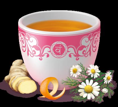 ženský čaj